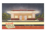 Richard's Drive-In, Roadside Retro Prints