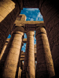 Great Hypostyle Hall at Karnak Temple, Egypt Photographie par Clive Nolan