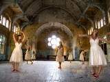 Ich tanze nur für dich Fotografie-Druck von Nathan Wright