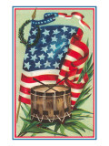 Flag and Drum Prints