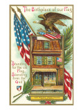 Betsy Ross House, Illustration Posters