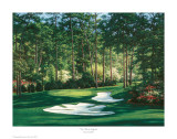 The 10th At Augusta Posters by Larry Dyke