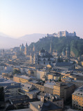 Alt Stadt and Hohensalzburg Fortress, Salzburg, Austria Photographic Print by Rex Butcher