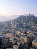Alt Stadt and Hohensalzburg Fortress, Salzburg, Austria Photographic Print by Rex Butcher