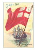 Colonial Flag Prints