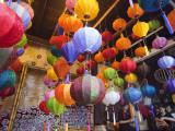 Vietnam, Hoi An, Paper Lantern Shop Display Photographic Print by Steve Vidler