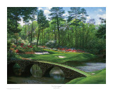 The 12th At Augusta Posters by Larry Dyke