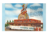 Beer Hut, Roadside Retro Posters