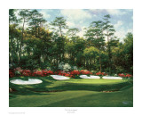 The 13th At Augusta Art by Larry Dyke