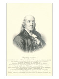 Engraving of Benjamin Franklin Prints