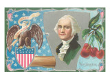 American Seal, Washington, Cherries Posters