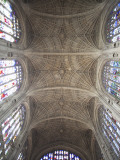England, Cambridgeshire, Cambridge, King's College Chapel, Ceiling Photographic Print by Steve Vidler