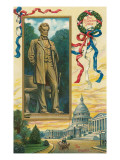 St. Gauden's Lincoln Statue, Washington, DC Posters