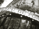 Cafe De Flore, Boulevard St. Germain, Paris, France Photographie par Jon Arnold