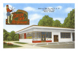 Bailey's Drive-in, Roadside Retro Prints