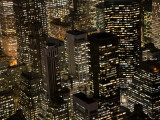 New York City at Night Photographic Print by Felipe Rodriguez