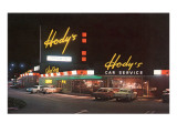 Hody's Drive-In, Roadside Retro Prints