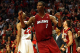 Miami Heat v Chicago Bulls - Game Five, Chicago, IL - MAY 26: Chris Bosh Photographic Print by Jonathan Daniel