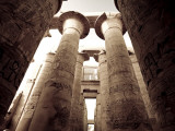 Egypt, Luxor, Karnak, Temple of Amun, Great Hypostyle Hall Photographic Print by Michele Falzone