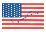 Flag, Long May it Wave Print