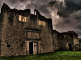 Dramatic Photograph of Beaupre Castle Photographic Print by Clive Nolan