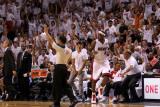 Dallas Mavericks v Miami Heat - Game One, Miami, FL - MAY 31: LeBron James Photographic Print by Mike Ehrmann
