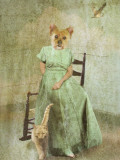 Babbleblab Photographic Print by Lynne Davies