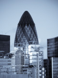 Swiss Re and Lloyd's of London, City of London, London, England Photographic Print by Jon Arnold