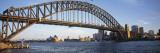 Opera House and Harbour Bridge, Sydney, New South Wales, Australia Fotografie-Druck von Peter Adams