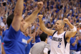 Oklahoma City Thunder v Dallas Mavericks - Game Five, Dallas, TX - MAY 25: Jason Kidd Photographic Print by Ronald Martinez