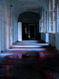 Blue Hallway Photographic Print by Nathan Wright