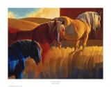 Colores primarios Lámina por Nancy Glazier