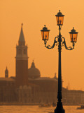 San Giorgio Maggiore, Grand Canal at Sunset, Venice, Italy Photographic Print by Jon Arnold