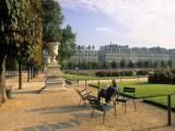 Jardin Du Tuilleries, Paris, France Photographic Print by Jon Arnold