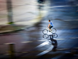 Bike Trick Photographic Print by Felipe Rodriguez