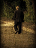 Man Cane Photographic Print by Sharon Wish