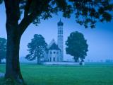 Germany, Bavaria (Bayern), Kolomanskirche Photographic Print by Alan Copson