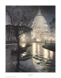Liberty's Light Poster por Rod Chase