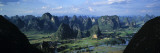 Panoramic View from Moon Hill, Yangshuo, Guangxi Province, China Photographic Print by James Montgomery