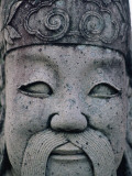 Thailand, Bangkok, Wat Pho, Chinese Statue Photographic Print by Steve Vidler