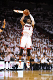 Dallas Mavericks v Miami Heat - Game One, Miami, FL - MAY 31: Dwyane Wade Photographic Print by Garrett Ellwood
