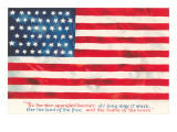 Flag with Poem Poster