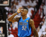 Dallas Mavericks v Miami Heat - Game One, Miami, FL - MAY 31: DeShawn Stevenson Photographic Print by Garrett Ellwood
