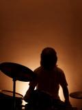 Musicien à la batterie Photographie par David Ridley
