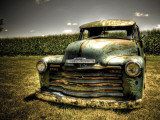 Chevy Truck Impresso fotogrfica por Stephen Arens