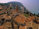 Roquebrune-Cap-Martin, Cote D'Azur, France Photographic Print by Walter Bibikow