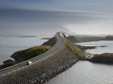 Storseisundbrua Bridge, the Atlantic Road, Romsdal, Norway Photographic Print by Peter Adams