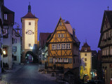 Rothenburg Ob Der Tauber, Bavaria, Germany Photographic Print by Rex Butcher