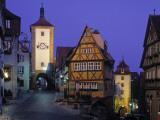 Rothenburg Ob Der Tauber, Bavaria, Germany Photographic Print by Rex Butcher
