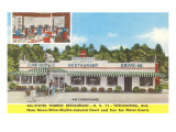 All-States Restaurant, Roadside Retro Poster